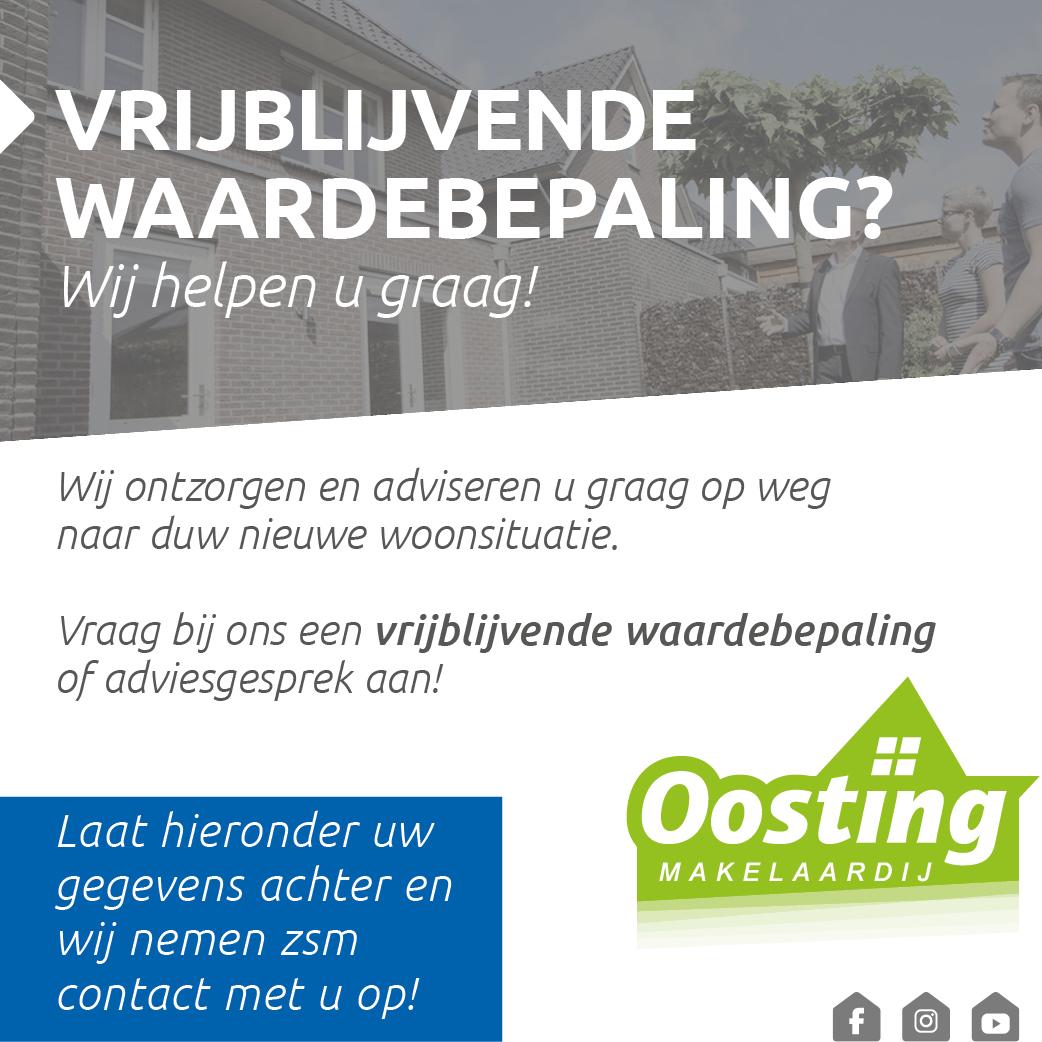 Vrijblijvende Waardebepaling Oosting Makelaardij Haaksbergen