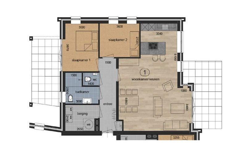 Barginkshoeve | appartement 1