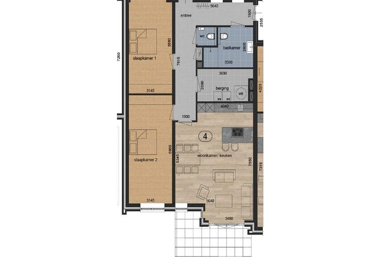 Barginkshoeve   appartement 4